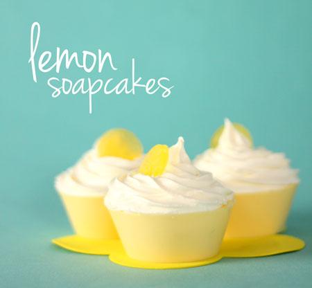 Lemony Cupcake Soap