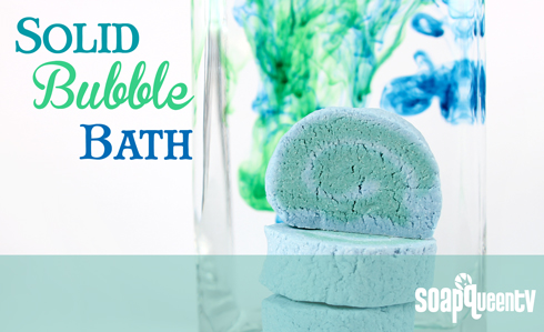 Solid Bubble Bath Bars