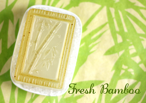 Fresh Bamboo Melt &amp; Pour Soap